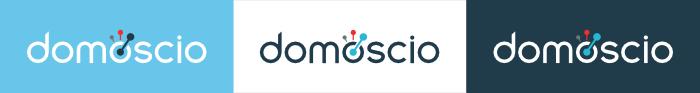 logo domoscio in three formats